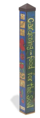 Art Poles are colorful gifts for the garden lover...click here to see more.